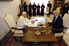 """Trump, sobre su encuentro con el Papa: """"Es genial"""""""