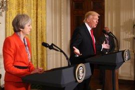 """May """"dejará claro"""" a Trump que la información de Inteligencia debe quedar a salvo de filtraciones"""