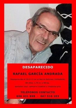 Persona desaparecida en Valladolid