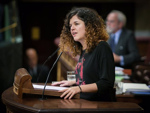 Sofía Castañón, de Unidos Podemos