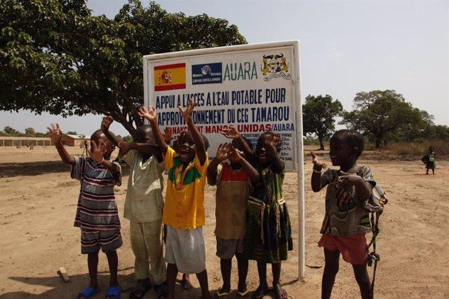 AUARA desarrolla seis proyectos que dan acceso a agua potable en África