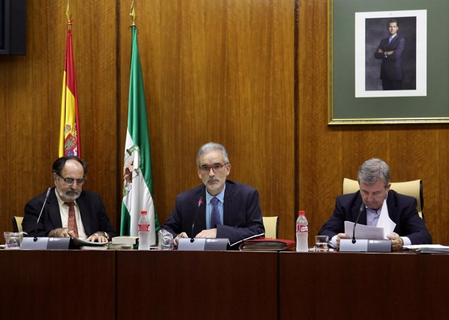 Aquilino Alonso en comparecencia parlamentaria