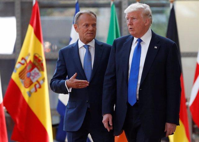 Donald Trump y Donald Tusk