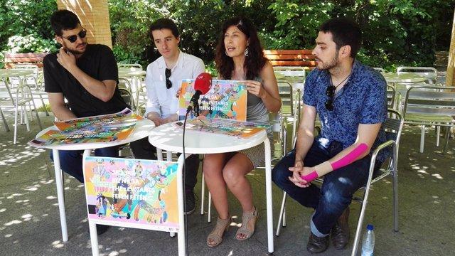 Presentación del Veral 2017 en el Campo Grande de Valladolid