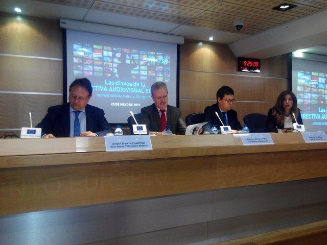 Jornada sobre la nueva Directiva Audiovisual Europea