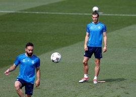 Bale y Carvajal completan la sesión de entrenamiento pensando en la final de Cardiff