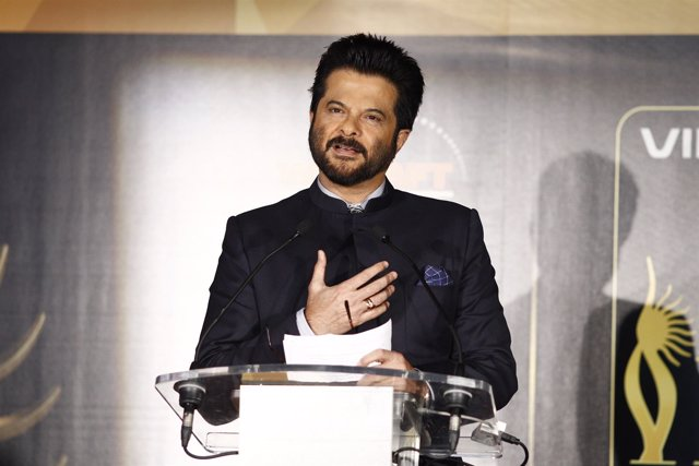Anil Kapoor, actor de Bollywood, en la IIFA Weekend and Awards en Madrid