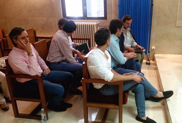 Hermanos Ruiz Mateos En El Juicio De Palma