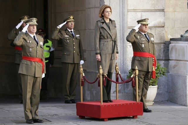 Toma de posesión del general Varela como JEME