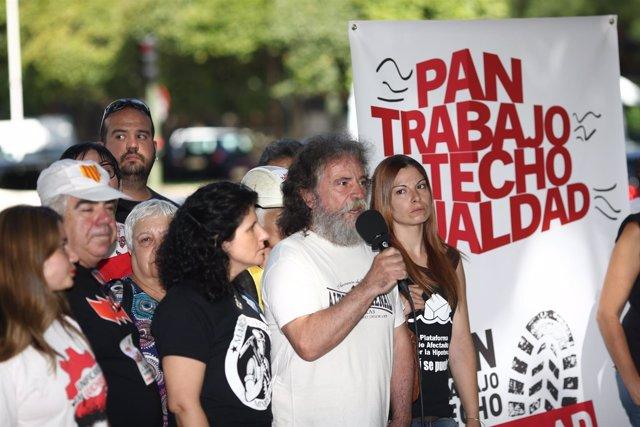 Las Marchas de la Dignidad presentan una movilización en Madrid
