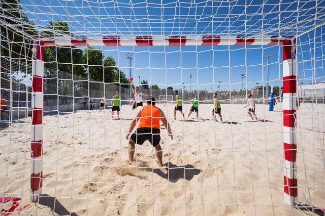 Nuevo espacio 'Beach Sport ZGZ' en el CDM Actur