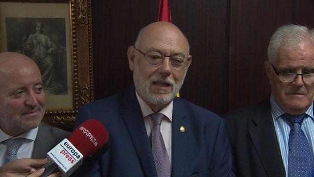 J.M.Maza (fiscal gral.) J.M.Romero de Tejada (fiscal jefe Catalunya)