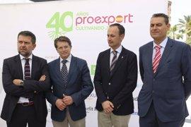 """Proexport denuncia que el agua en Murcia """"es el eterno problema"""" y lamenta que """"nadie sea capaz de solucionarlo"""""""