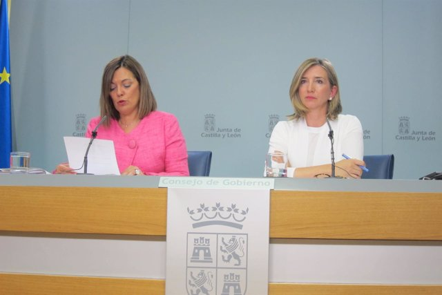 Valladolid. Marcos y García tras el Consejo de Gobierno