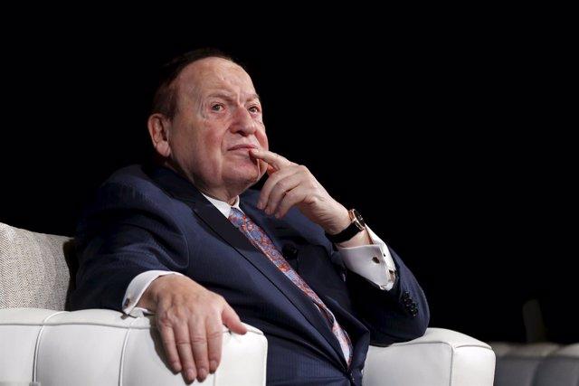 El magnate estadounidense Sheldon Adelson