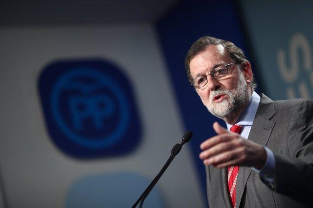 Rueda de prensa de Rajoy tras la reunión del Comité Ejecutivo Nacional del PP