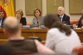 """La oposición critica el """"desfase"""" entre el presupuesto y lo que se gasta de verdad en Defensa"""