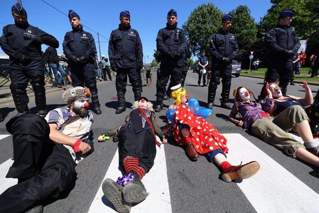 Protesta contra la cumbre de la OTAN