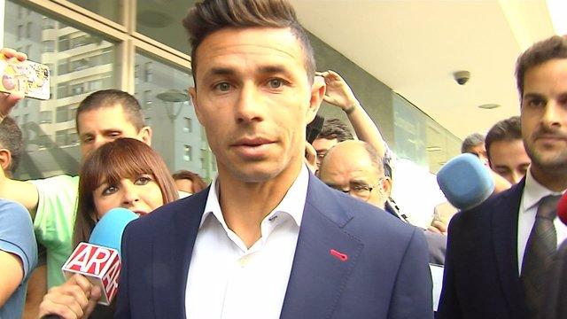 Comienza el juicio del futbolista Rubén Castro