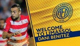 Dani Benítez, nuevo jugador del AEL Limassol de Chipre