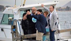 La Comunidad duplicará el número de investigaciones científicas en el Mar Menor