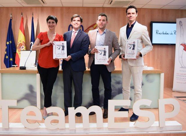 Jaime González Castaño presenta libro de gimnasia