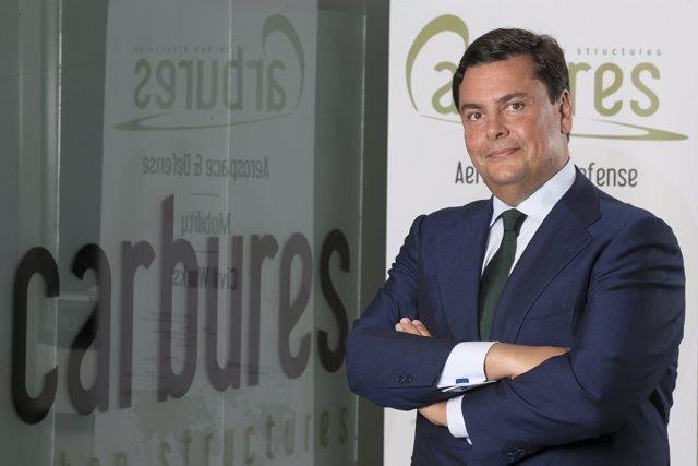 Borja Martínez-Laredo, consejero delegado de Carbures