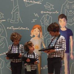 Guía Multimedia familiar en el Museo Thyssen-Bornemisza