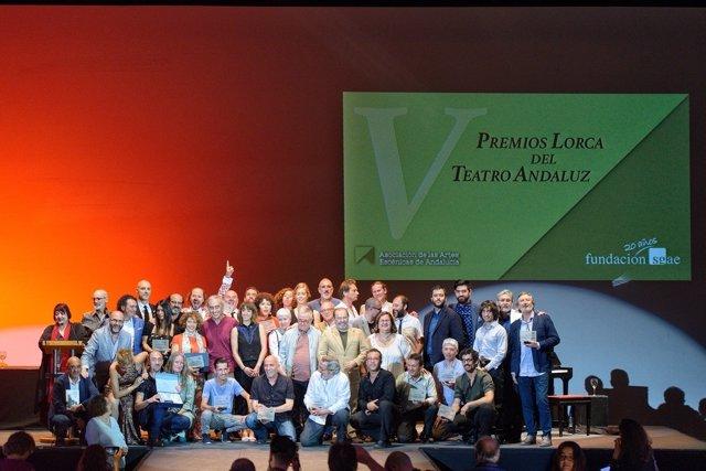 Entrega de los Premios Lorca de Teatro Andaluz