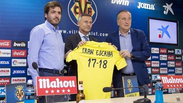 Fran Escribá renueva como entrenador del Villarreal