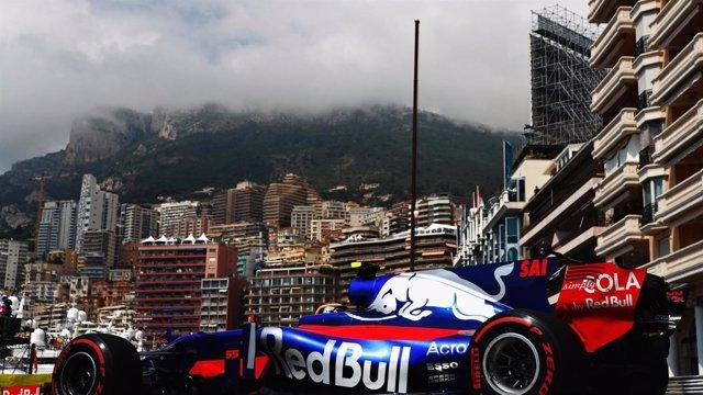 Carlos Sainz (Toro Rosso) en Mónaco