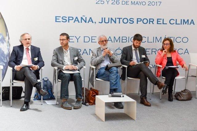 Jornadas de debate de cambio climático 'España, juntos por el clima'