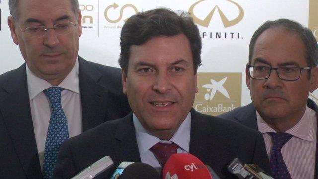 El consejero de Empleo, Carlos Fernández Carriedo