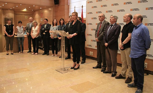 Presentación de la Estrategia de Promoción Económica e Industrial de Aragón.