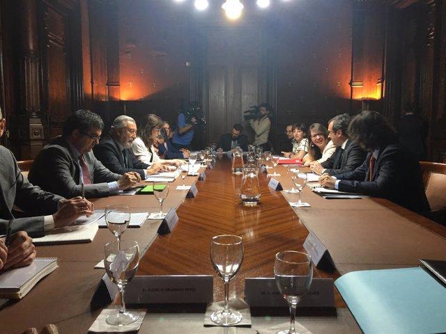 Reunión del comité de administración de Barcelona Sagrera Alta Velocidad
