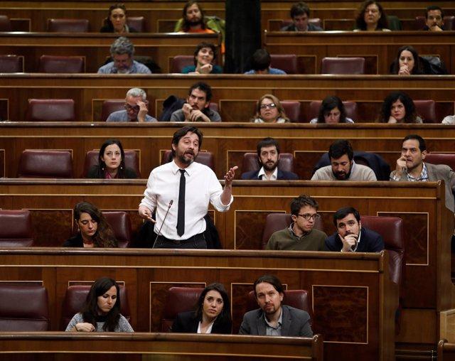 Rafael Mayoral, diputado de Podemos