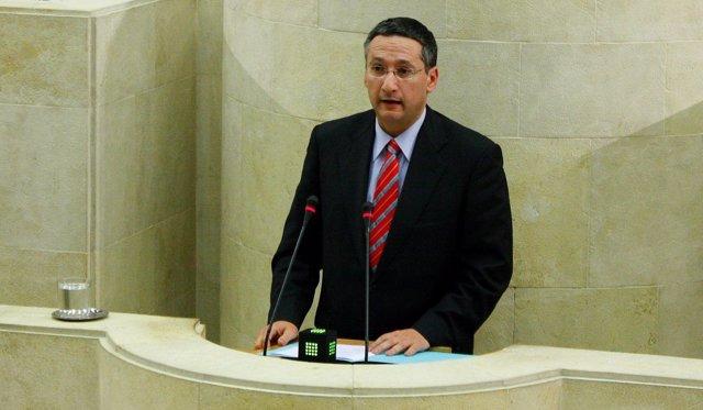 El diputado del PP Carlos Bedia