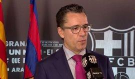 """El FC Barcelona recalca que su voluntad no era """"reclamar responsabilidad económica"""" contra Laporta y su Junta"""