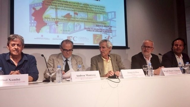 Brauli Duart (CCMA) en un debate