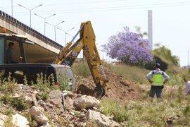 Finaliza la tercera jornada de la búsqueda del cuerpo de Marta en Camas (Sevilla), que continúa este viernes