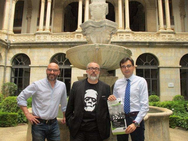 Presentación de 'El bar' de Álex de la Iglesia en Jaén
