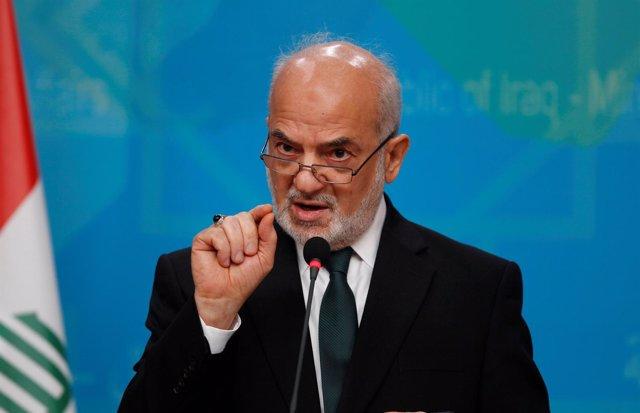 El ministro de Exteriores de Irak, Ibrahim al Jaafari