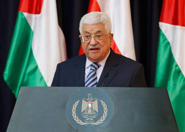 El presidente de la Autoridad Palestina, Mahmud Abbas