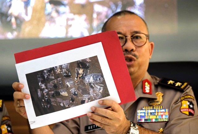 Portavoz de la Policía Nacional de Indonesia, Setyo Wasisto