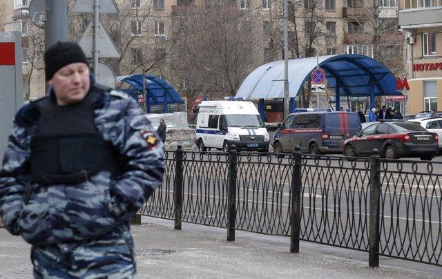 Agente de Policía de Rusia
