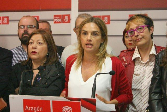 Susana Sumelzo presenta el plan de trabajo de cara a las primarias del PSOE.