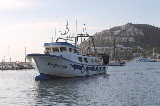 Barco pesquero en Mallorca