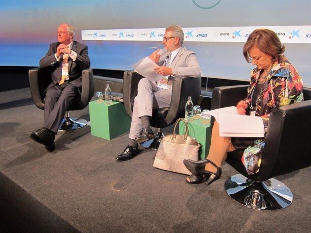 P.Polman (Unilever), M.Puig (Puig), C.Gallach (ONU)