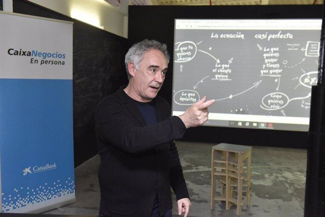Caixabank Y Ferran Adriá Presentan Varias Iniciativas El Jueves 26 Y Viernes 27