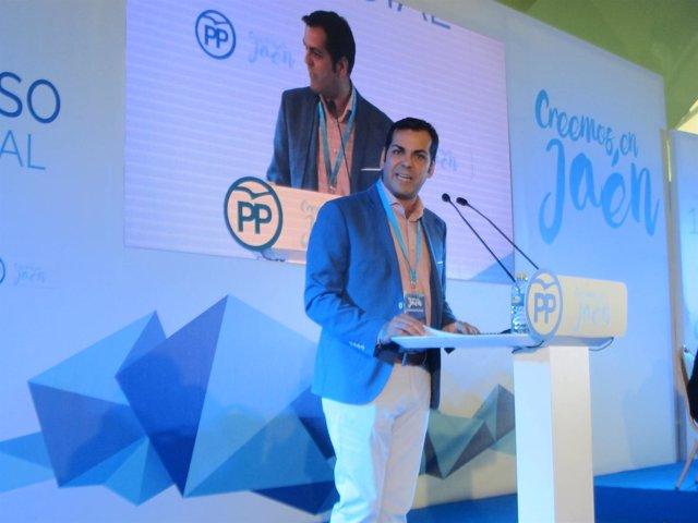 Juan Diego Requena durante su intervención